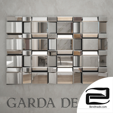 Mirror Garda Decor 3D Model id 482