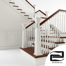Stairs 3D Model id 12133