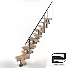 Stairs 3D Model id 11164