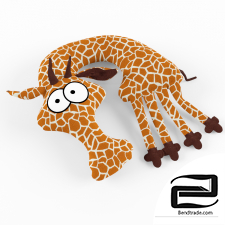 Pillow-toy giraffe Evgraf