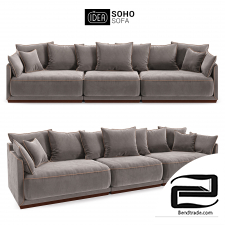 The IDEA of a Modular Sofa SOHO (art. 801-805-802)