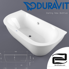 DURAVIT Darling New Bathtub