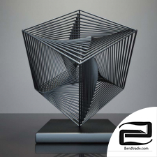 scared geometry sculpture