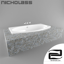 Bathtub 3D Model id 17161