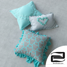 pillows 3D Model id 15067