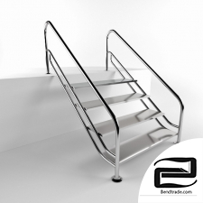 Stairs  3D Model id 14384