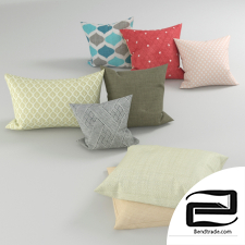pillows 3D Model id 15511