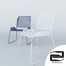 Office chair 3D Model id 12211