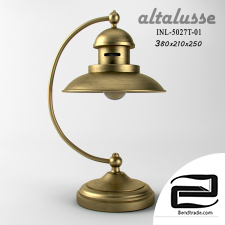 Table lamp Altalusse INL-5027T-01 Brushed Gold