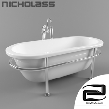 Bathtub 3D Model id 17162