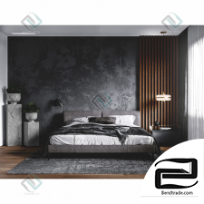 Dark Bedroom Design