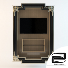 Decorative TV frame