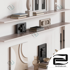 Cylinder wall set Decorative set