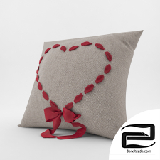 decorative pillows 3D Model id 16886