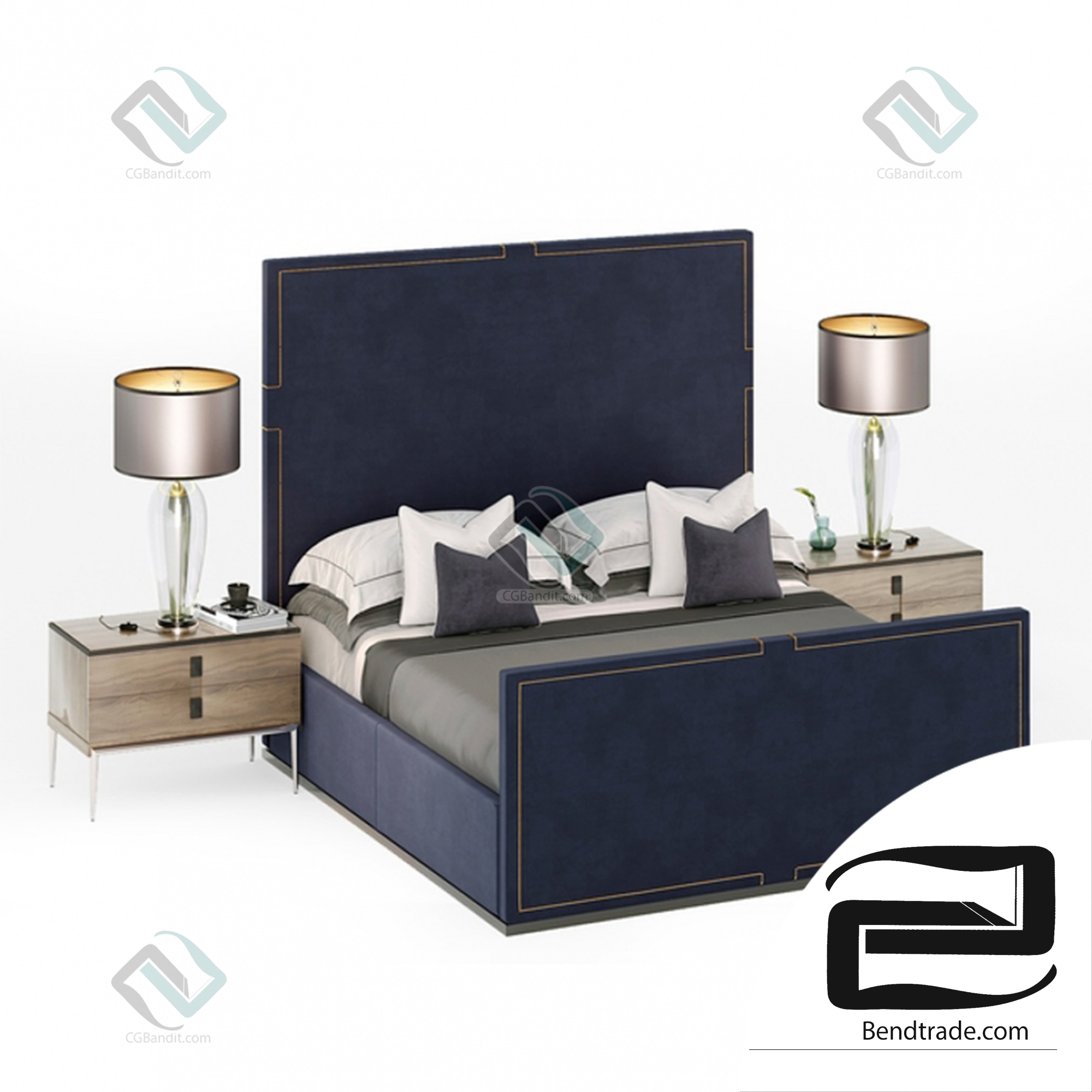 Bed - HOLLAND, The Sofa & Chair Company-Luxury bed